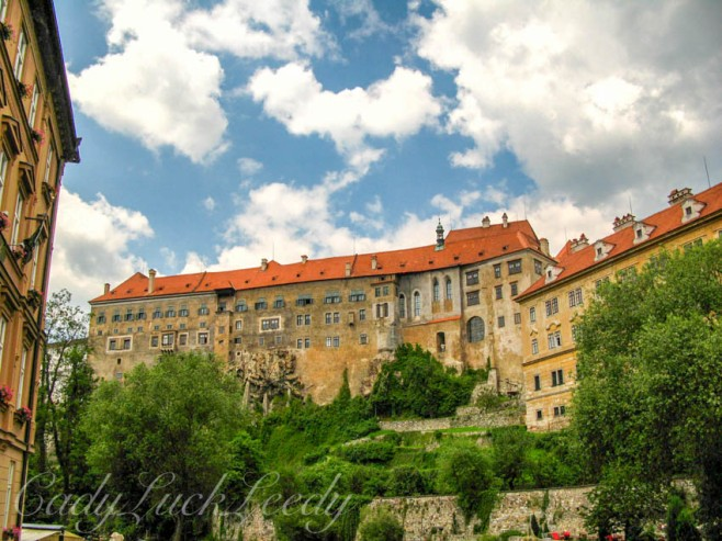 The Krumlov Castle of Cesky Krumlov, the Czech Republic