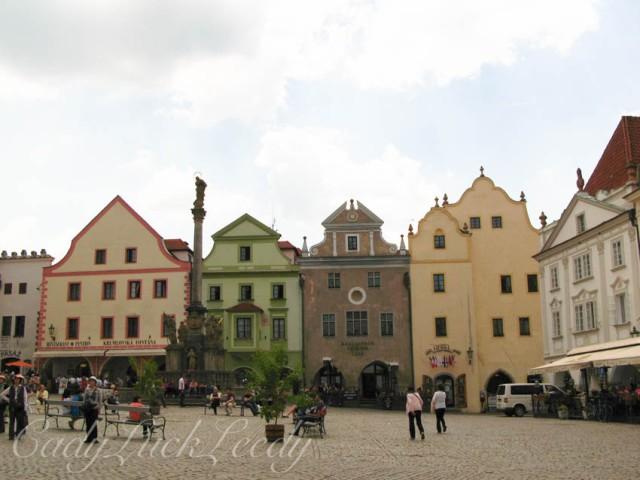Town Square, Cesky Krumlov