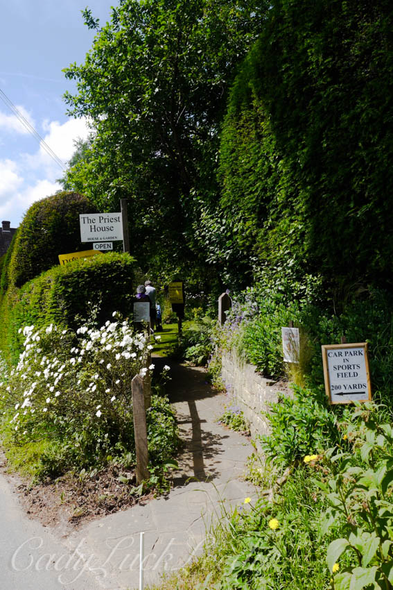 Walkway to the Priest House, West Hoathly, Sussex