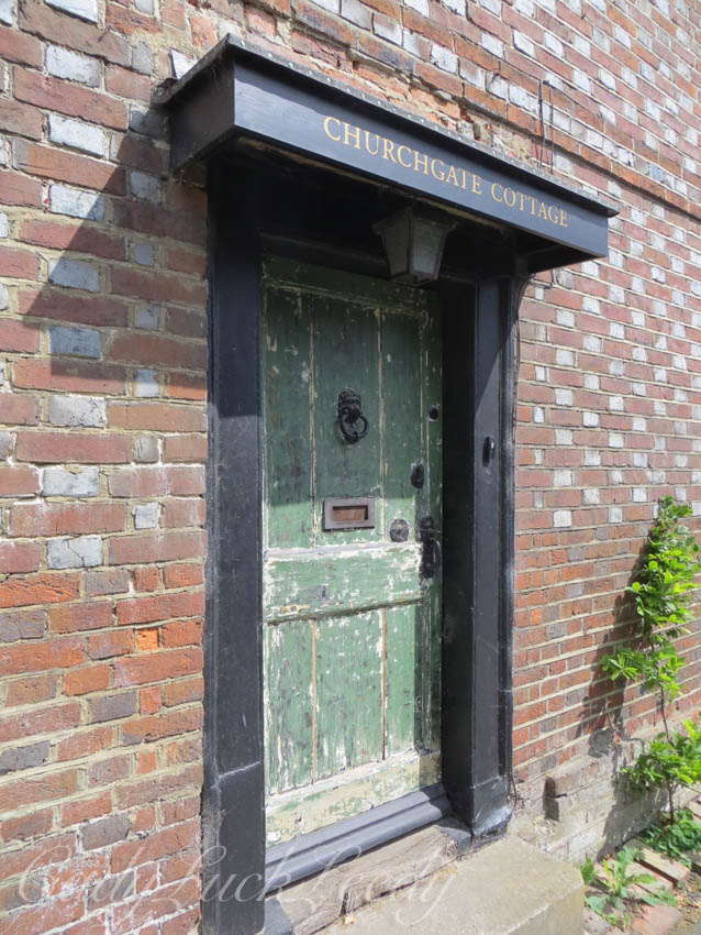 Another Old Cottage Door in Fletching, Uckfield