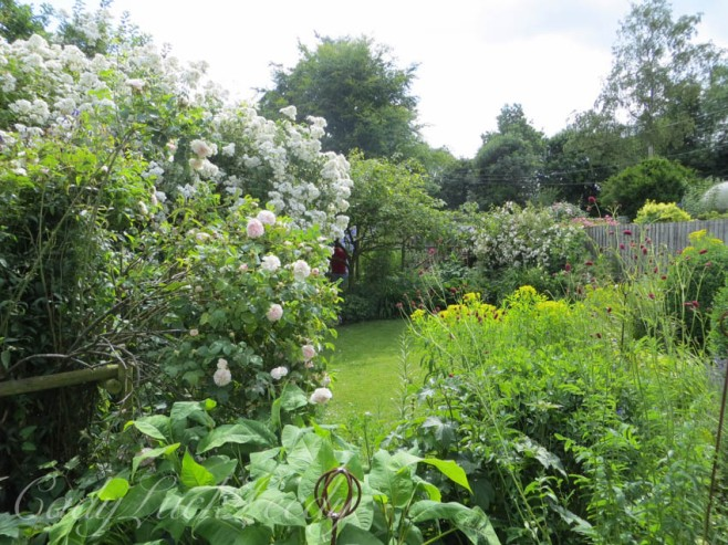 Another Look at the Garden, Whites Cottage, Fletching, Uckfield