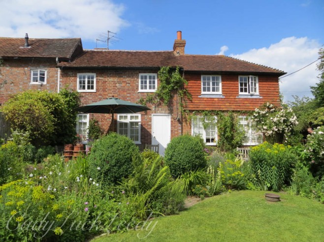 The Rows of Small Cottages at Fletching, Uckfield