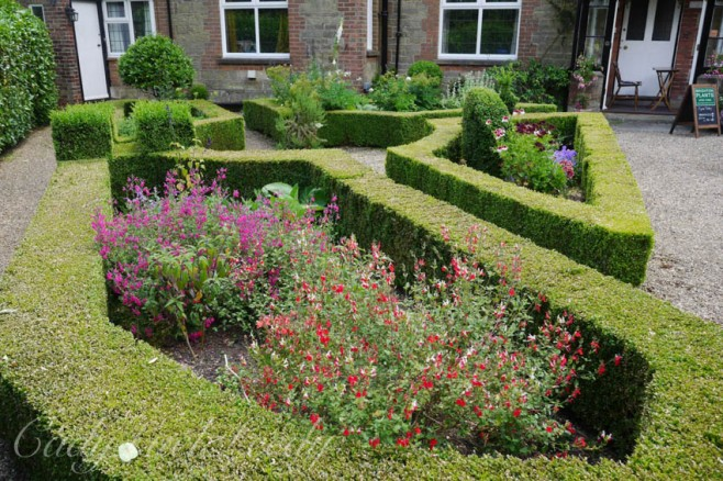 The Front Garden at Luctons, Sussex
