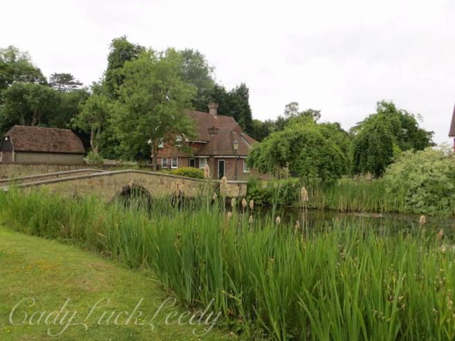 The Bridge leading to Lyndhurst Estate, Warninglid, Sussex