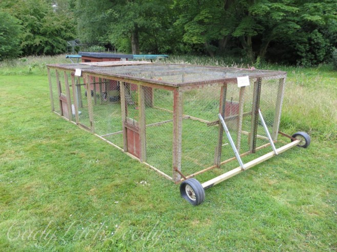 The Movable Chicken Pen
