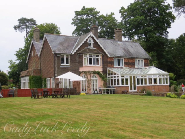 The Back of Wealden House, Warninglid, Sussex,