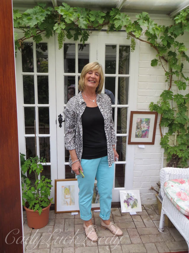 The Artist and Her Work, 1 Herrings Cottage, Warninglid