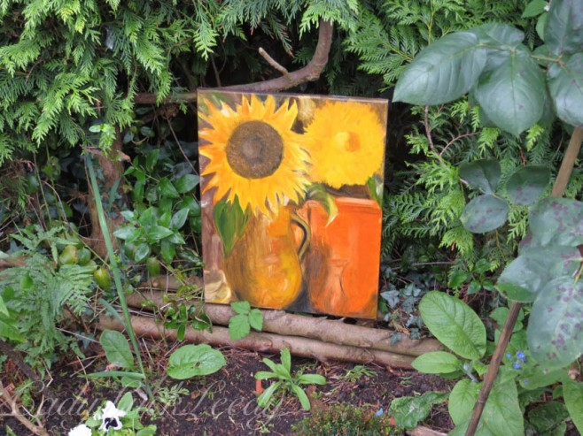 Art in the Garden at 1 Herrings Cottage, Warninglid