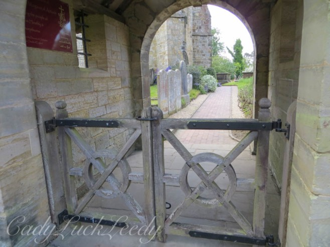 The Gate to St Margaret's Church, West Hoathly, Sussex