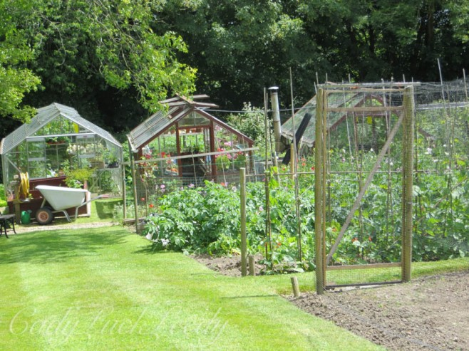 The Vegetable Garden, Luctons, Sussex