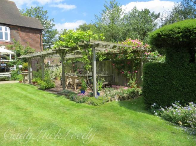 Luctons Garden on the National Garden Scheme, UK