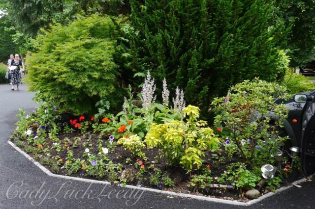 The Entryway Garden, Wealden House, Warninglid, Sussex