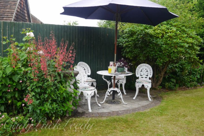 A Place to Sit and Enjoy the Garden, 1 Herrings Cottage, Warninglid