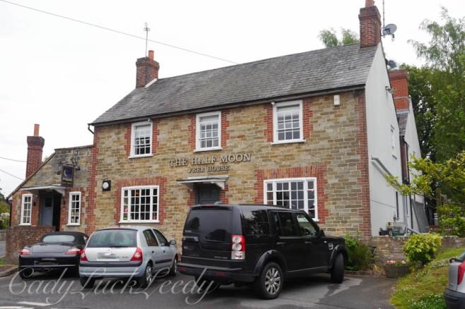 Half Moon Pub, Warninglid, Sussex