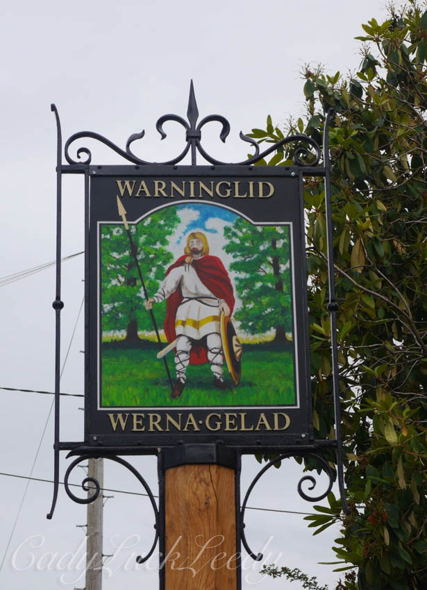 Warninglid Sign, Warninglid, Haywards Heath, Sussex