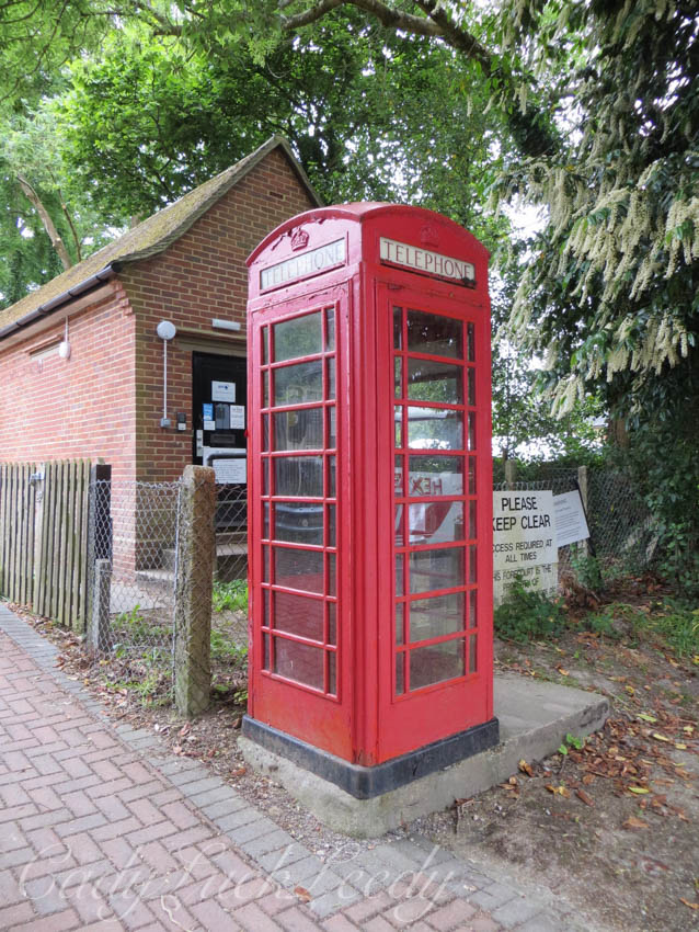 The Red Telephone Booth, Warninglid, Sussex