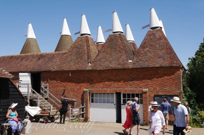 Oast at Sissinghurst, Kent, UK