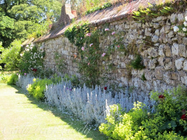 Walled Garden at Knole, Sevenoaks, Kent, UK