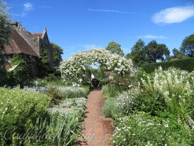 The White Garden, Sissinghurst, Kent, UK
