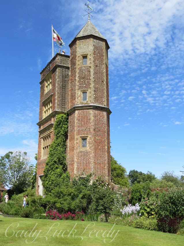 The Prospect Tower at Sissinghurst Gardens, Cranbrook, Kent, UK