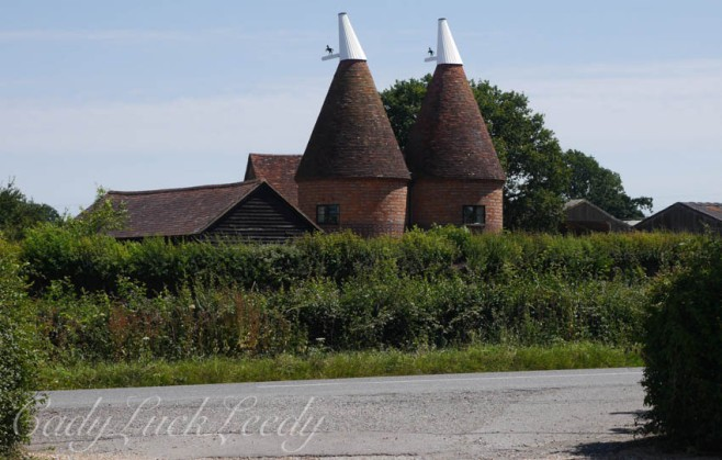 Oast in Kentish Countryside, UK