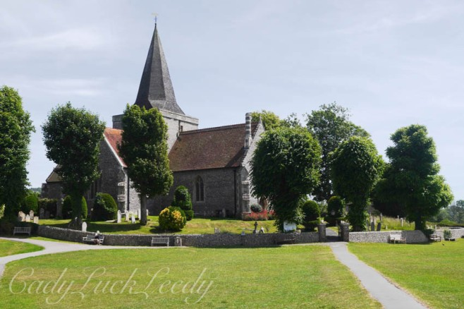 St Andrew's Church, Alfriston, Sussex, UK