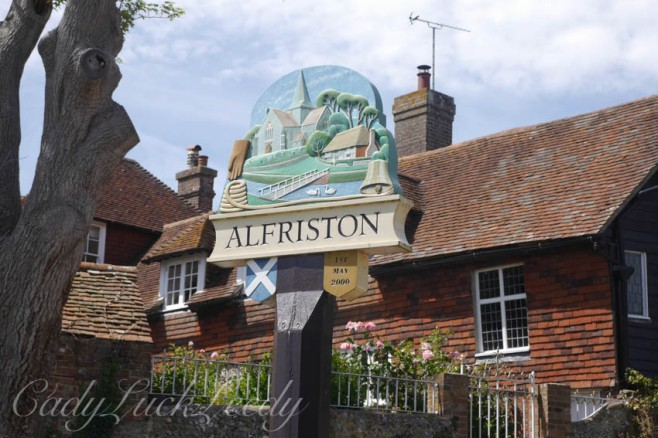 Alfriston, Sussex, UK