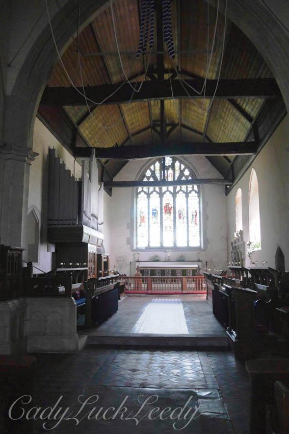 St Andrew's Church, Alfriston, Sussex, UK