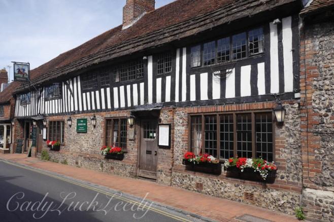 The George Inn, Alfriston, Sussex, UK