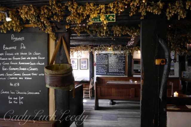 The George Inn, Alfriston, Sussex, UK