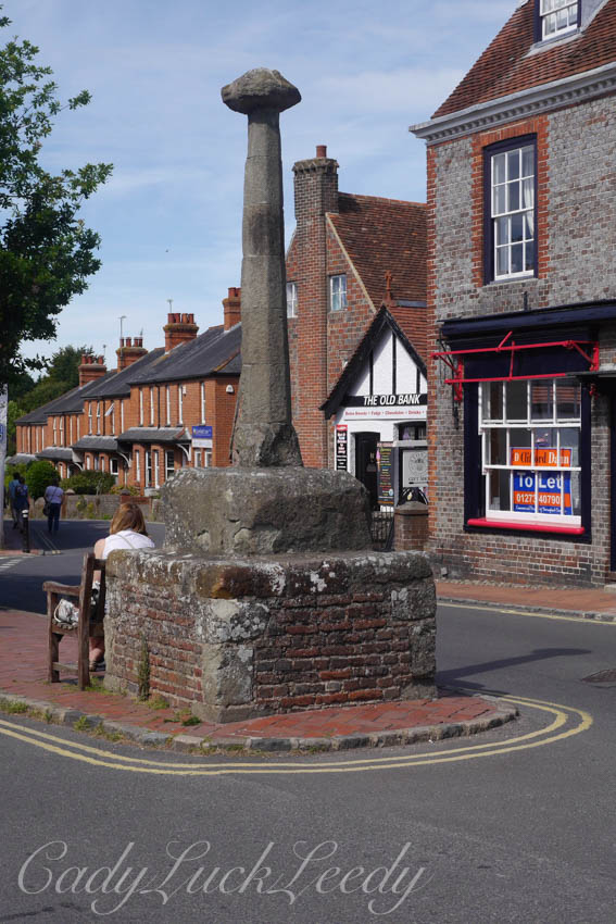 Market Square, Alfriston, Sussex, UK