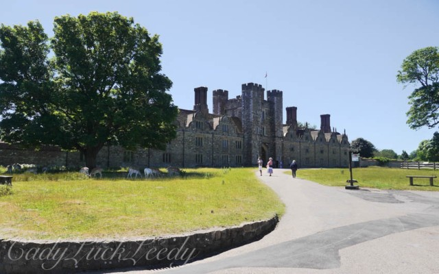 The Entry to Knole, in the Green Courtyard, Sevenoaks, Kent, UK