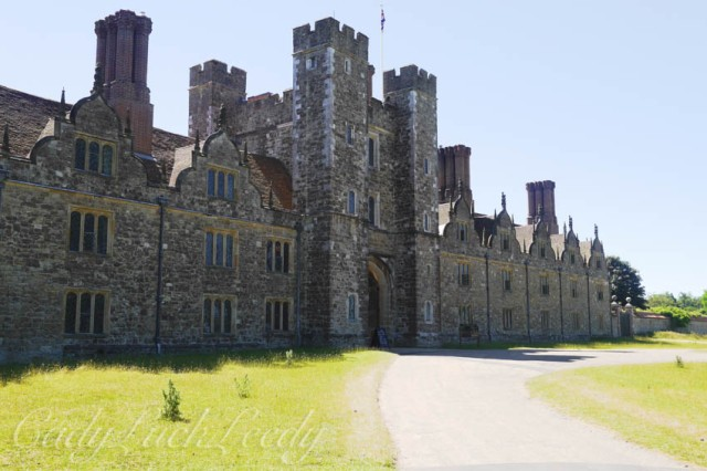 One of the Towers at Knole, Sevenoaks, Kent, UK