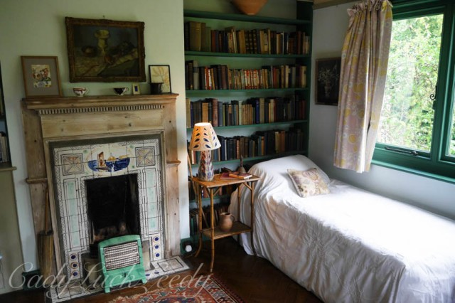 Virginia's Bedroom, Monks House, Rodmell, UK