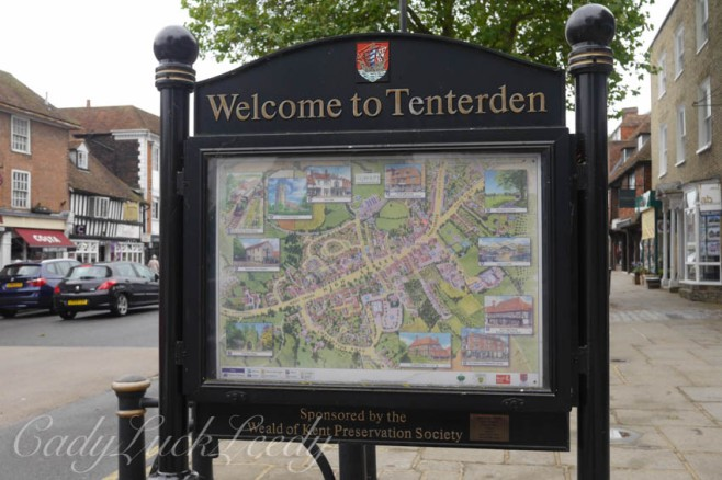Tenderden Town Sign, Tenderden, UK
