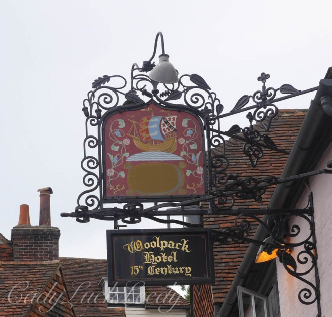 """The Wooley at the Woolpack Hotel, Tenterden, Kent, UK"