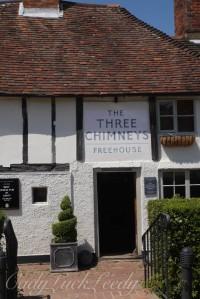 Three Chimneys Pub, Biddenden, Kent, UK
