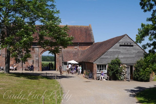 The Gift Shop and Restaurant at Sissinghurst Castle, Kent, UK