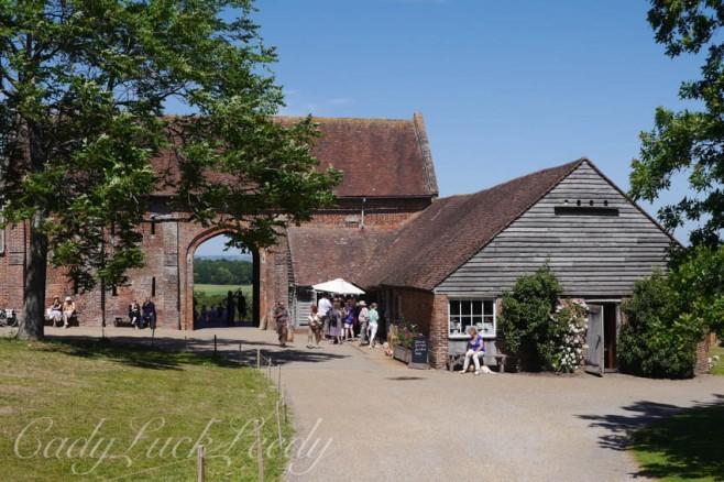The Gift Shop and Restaurant at Sissinghurst Castle, Kent, UK