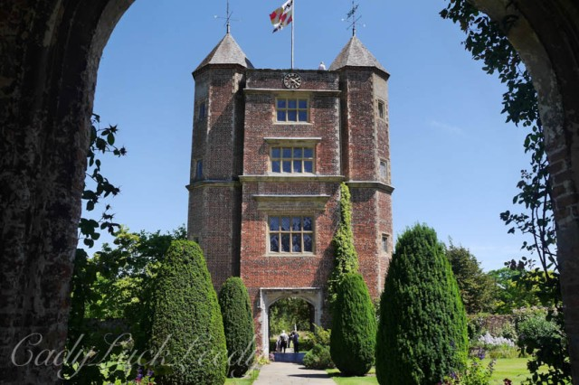 Tower at Sissinghurst Castle, Cranbrook, Kent, UK