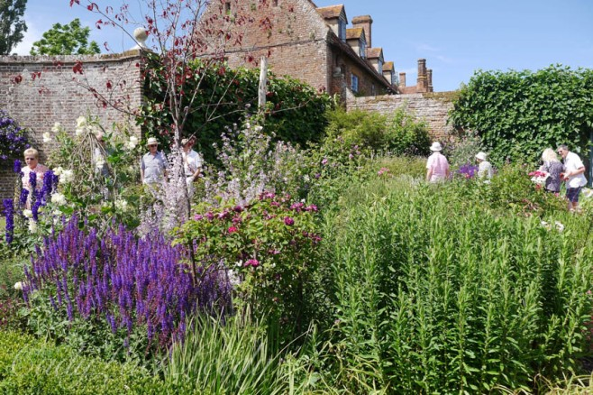 The Rondel Garden, Sissinghurst, Kent, UK
