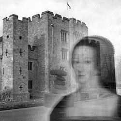 Anne Boleyn at Haunted Hever Castle, Kent, UK