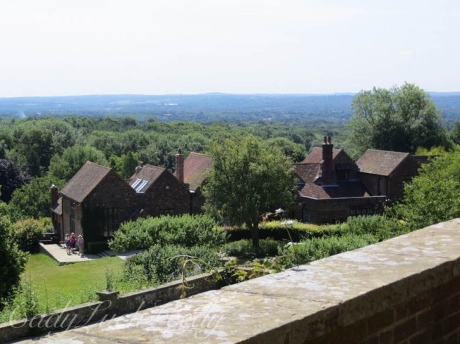 From the Terrace at Chartwell, Kent, UK
