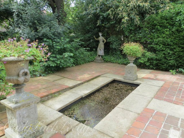The Italian Garden, Monks House, Rodmell, UK
