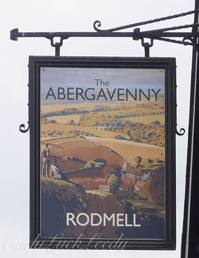 The Abergavenny Arms Pub, Rodmell, Sussex UK