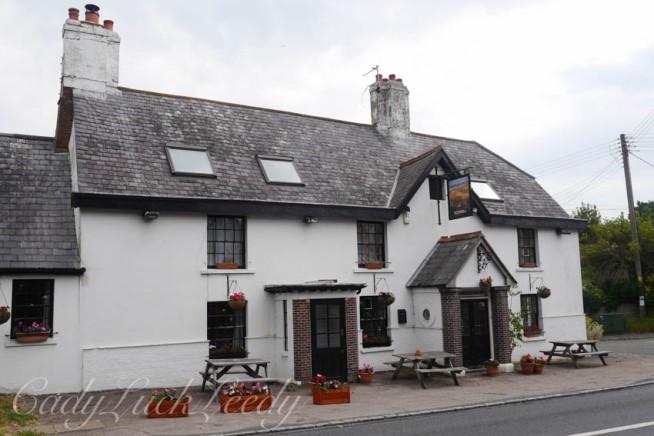 Abergavenny Pub, Rodmell, Sussex, UK