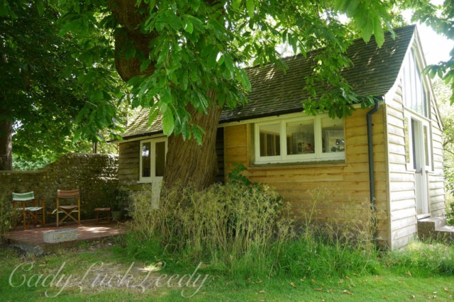Virginia's Writing Lodge, Monks House, Rodmell, UK