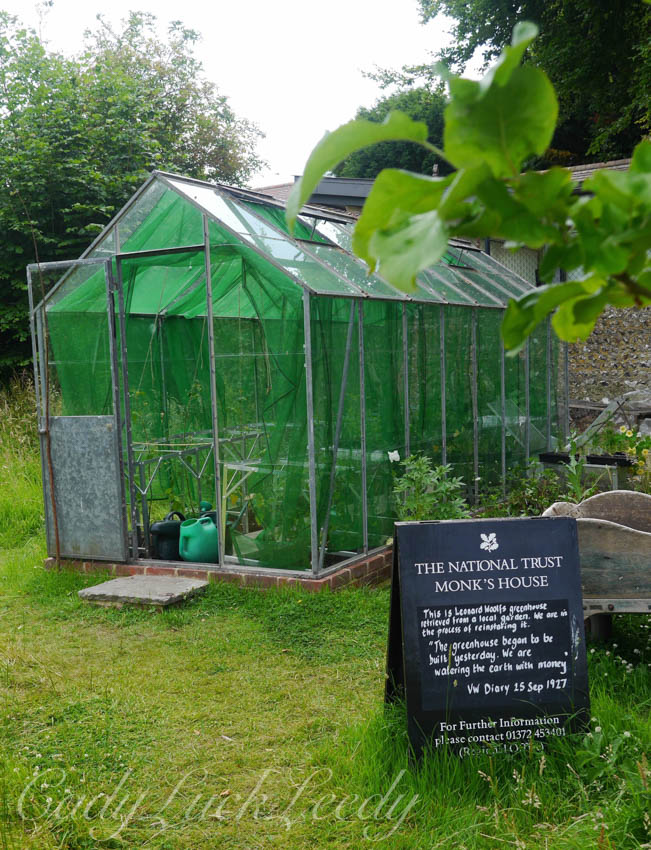 The Greenhouse, Monk's House, Rodmell, UK