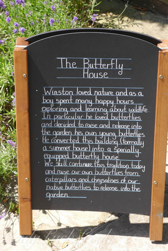 The Butterfly House, Chartwell, Kent, UK