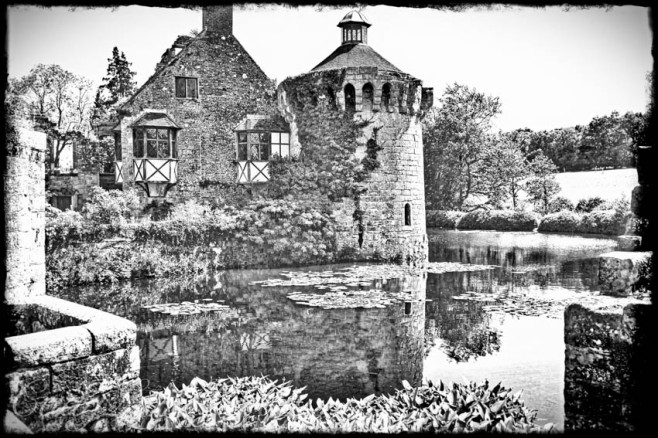 Old Scotney Castle in Dusk, Lamberhurst, UK